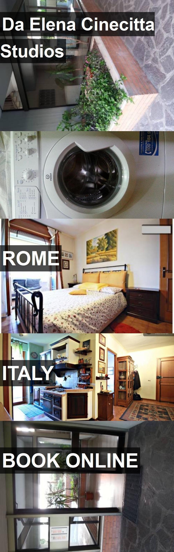 Hotel Da Elena Cinecitta Studios in Rome, Italy. For more ...