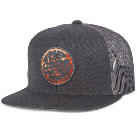 f1f7bf6a571743 Rip Curl Fresh Wettie Trucker Hat - Heather Grey in 2019 | Products | Rip  curl, Hats, Baseball hats