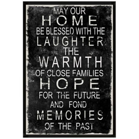 Laughter, Warmth, Hope 36 1/2