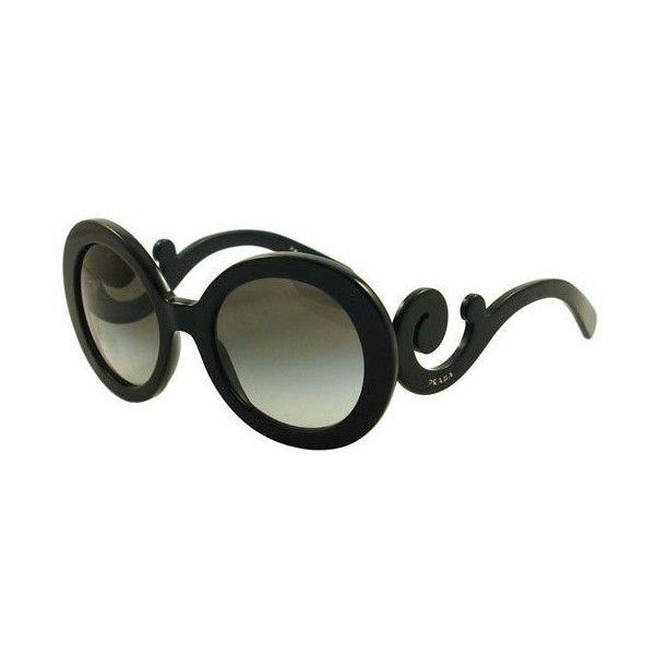 Prada PR27NS Sunglasses ($167) ❤ liked on Polyvore featuring accessories, eyewear, sunglasses, prada eyewear, prada, prada glasses i prada sunglasses