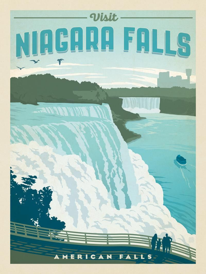 Anderson Design Group American National Parks Niagara Falls