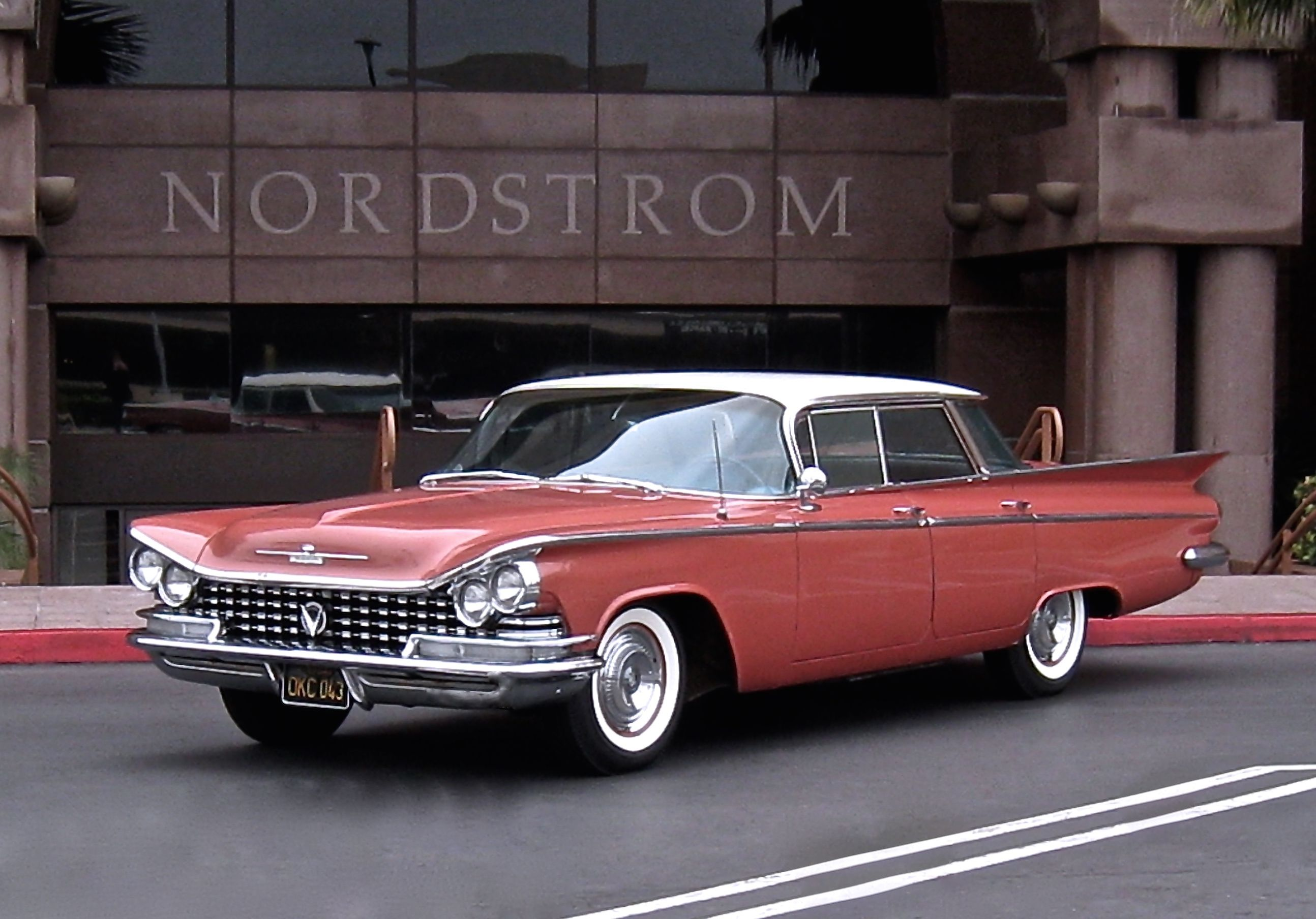 1959 Buick LeSabre in Tawny Rose/Arctic White. Unrestored, totally ...
