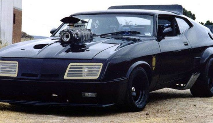 Mad Max 1974 Customized Ford Falcon Xb Interceptor Cars Movie