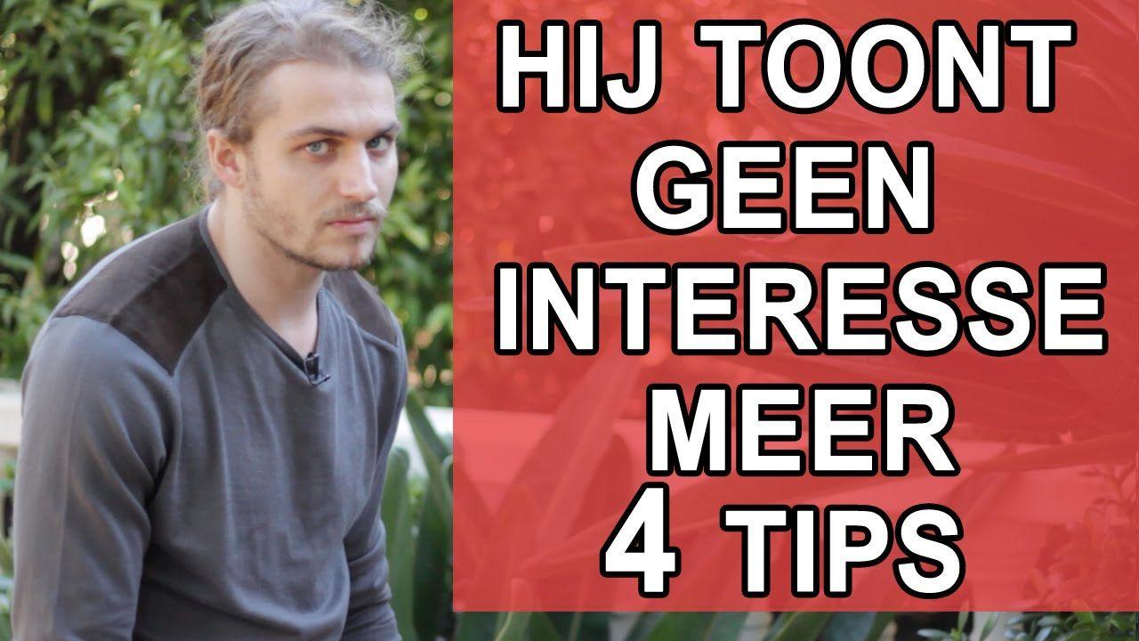 Hij toont geen interesse meer? Top 4 tips voor als je man