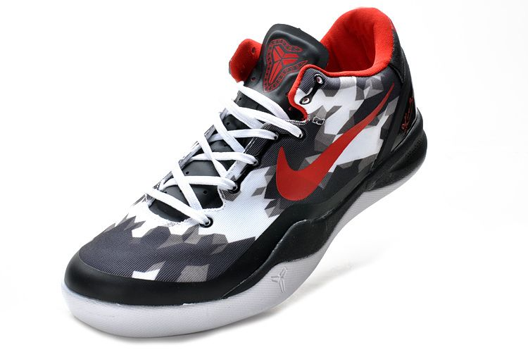 7efda997d071 Kobe shoes 2013 Kobe VIII Elite USA White Black Red 555035 101 ...