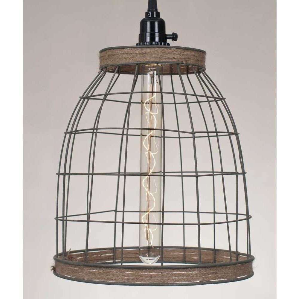 Awesome Wire Basket Pendant Light Composition - Wiring Diagram Ideas ...