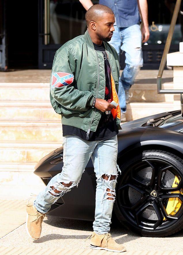 Pin By Jonathan Vinnett On Men S Fashion Flight Bomber Jacket Kanye West Bomber Jacket