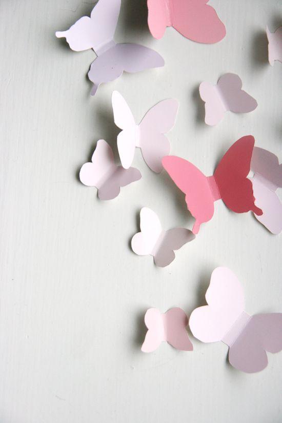 Chambre d'enfant : un envol de papillons - Plumetis Magazine