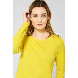 Photo of Cecil – Doubleface Shirt in Fresh Yellow in Fresh Yellow Cecil