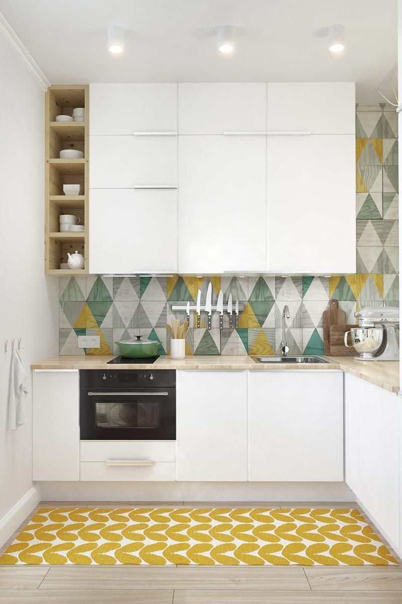 LOVE the floor and wall tiles! | Shack Retirement: KITCHEN ...