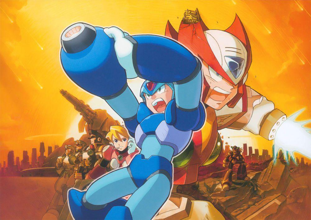 Mega Man X5 Mega Man Capcom Man Wallpaper
