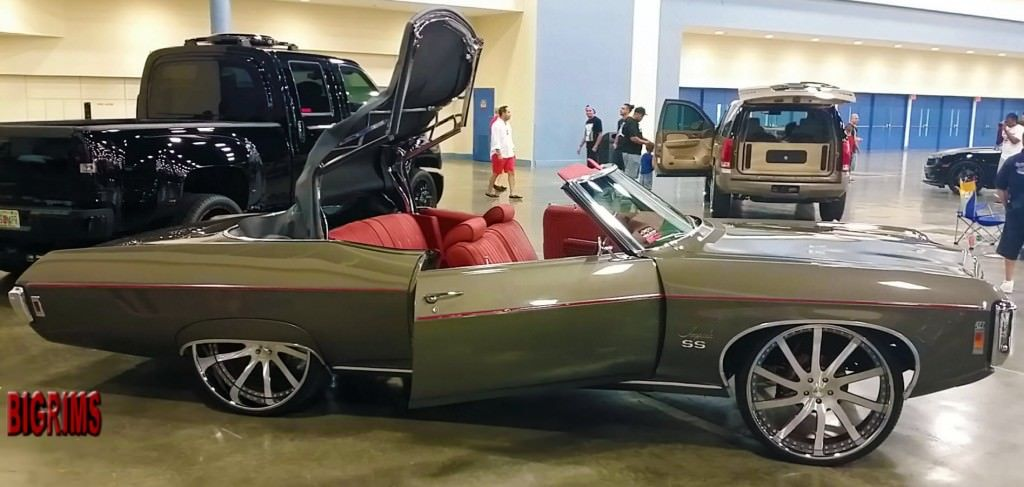 Big Donk Cars And Rims Dub Show Miami Show Cars Luxury Sport