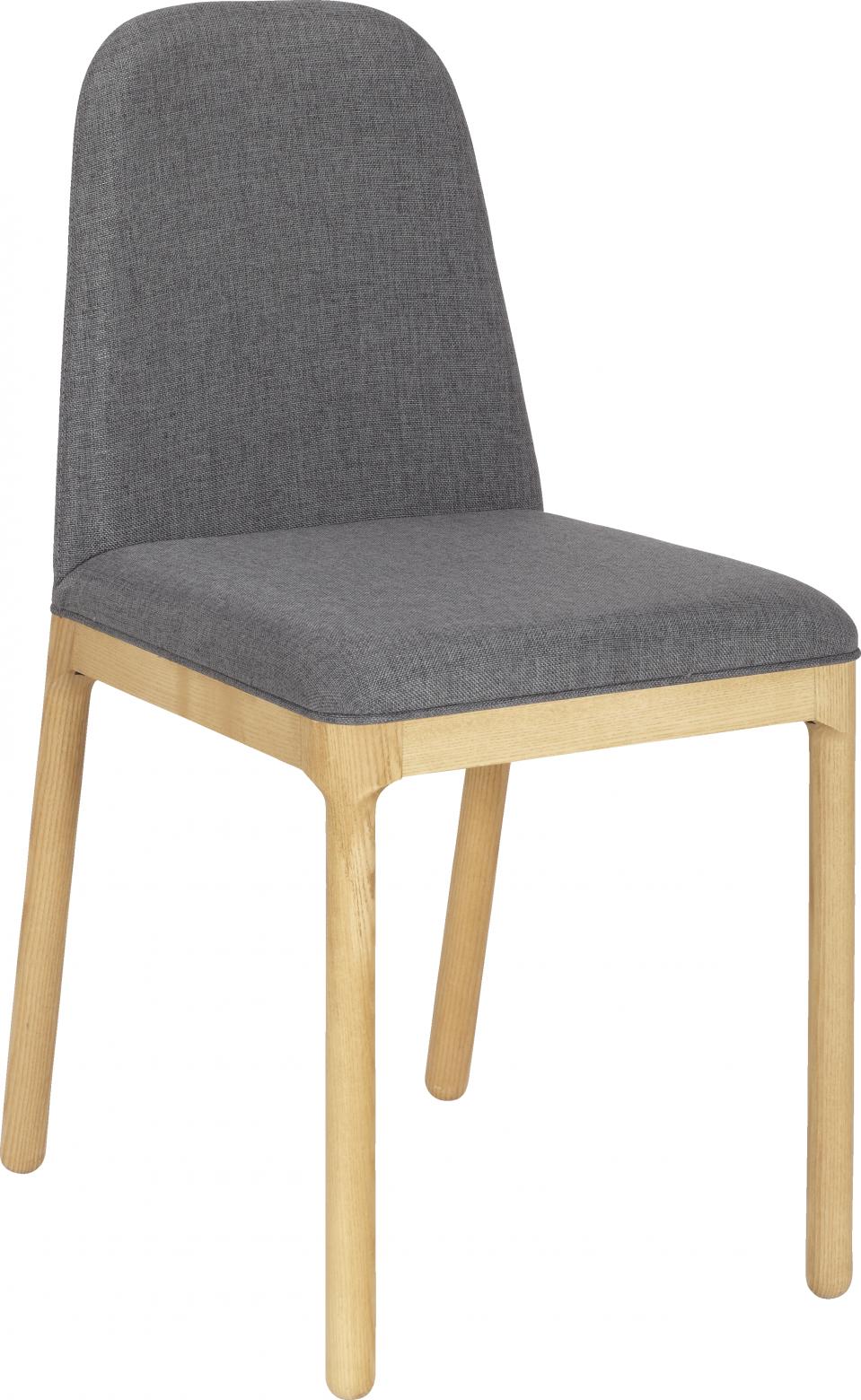 Bet Chaise En Tissu Couleur Gris Habitat Chaise Salle A