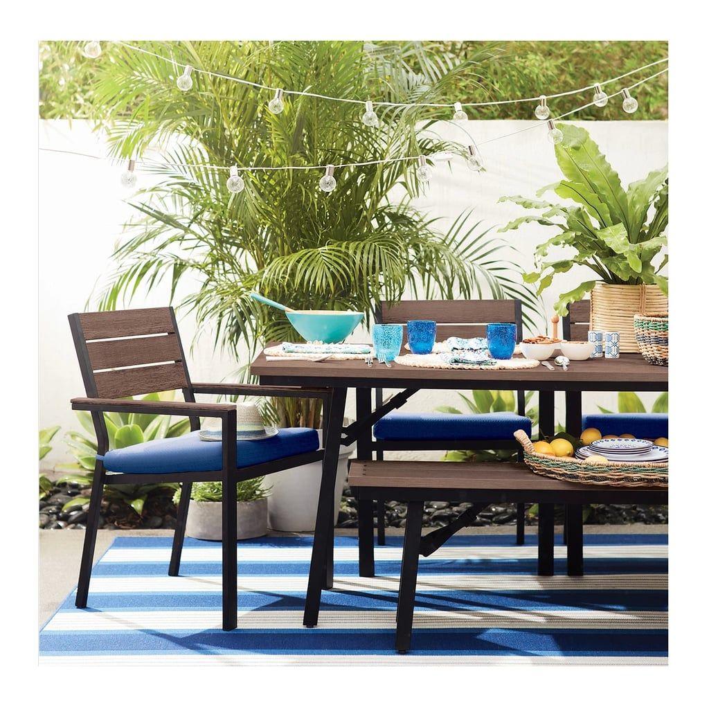 Mantega Faux Wood Folding Patio Dining Table Outdoor Dining Room Patio Dining Table Outdoor Dining Table