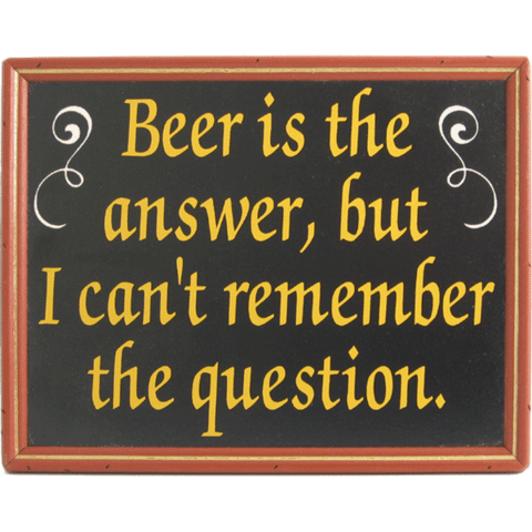 Funny Beer Signs Home Bar Decor 20 Brew Life Beer Signs