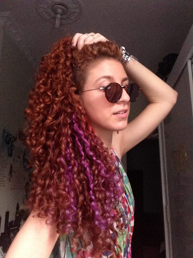 Mehndi For Curly Hair : Natural curly hair routine henna red purple no poo