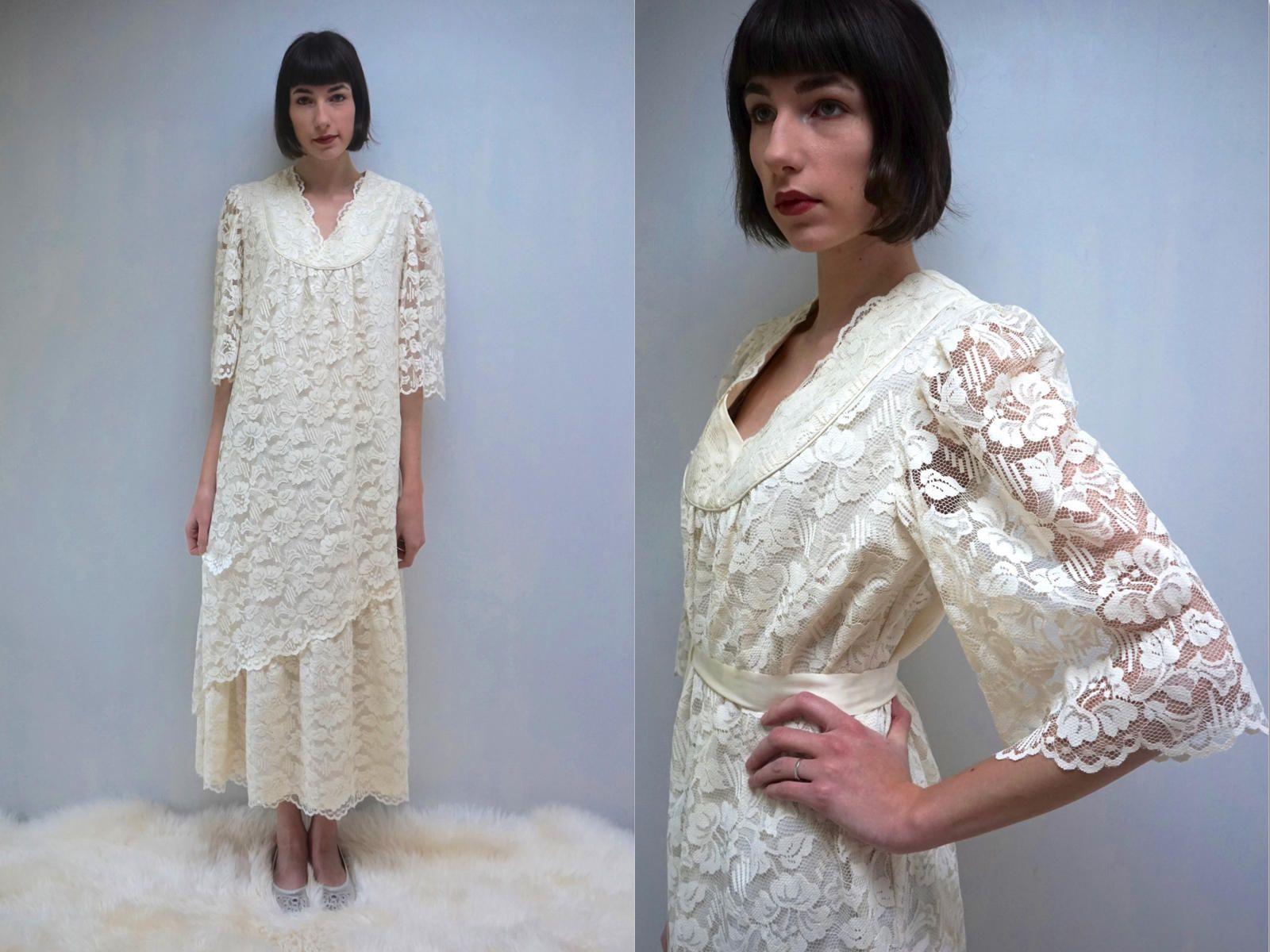 Boho wedding dress maternity dress beach wedding dress bohemian