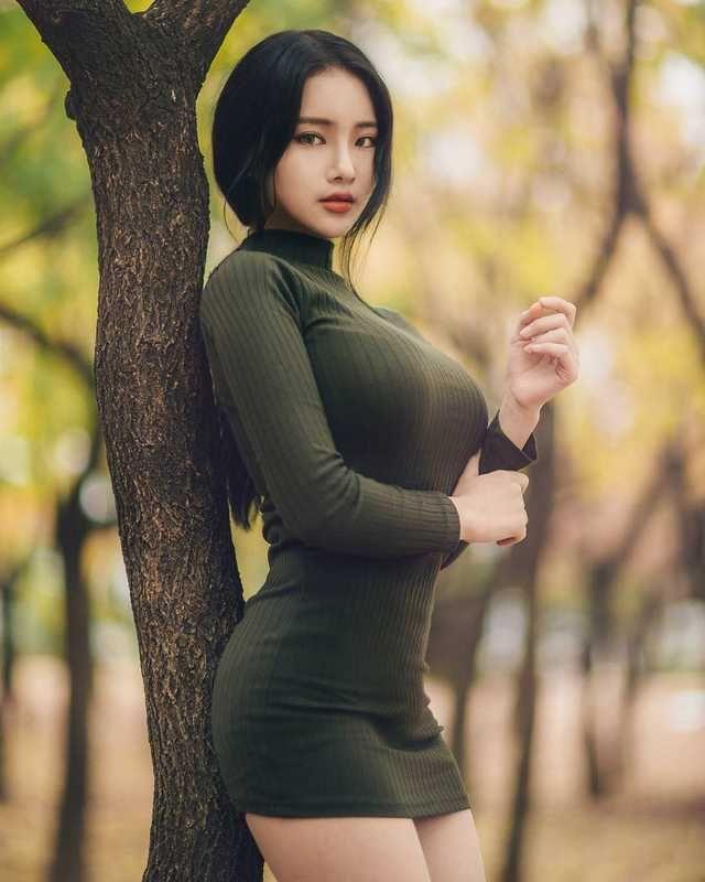 Asian puppy beauty models