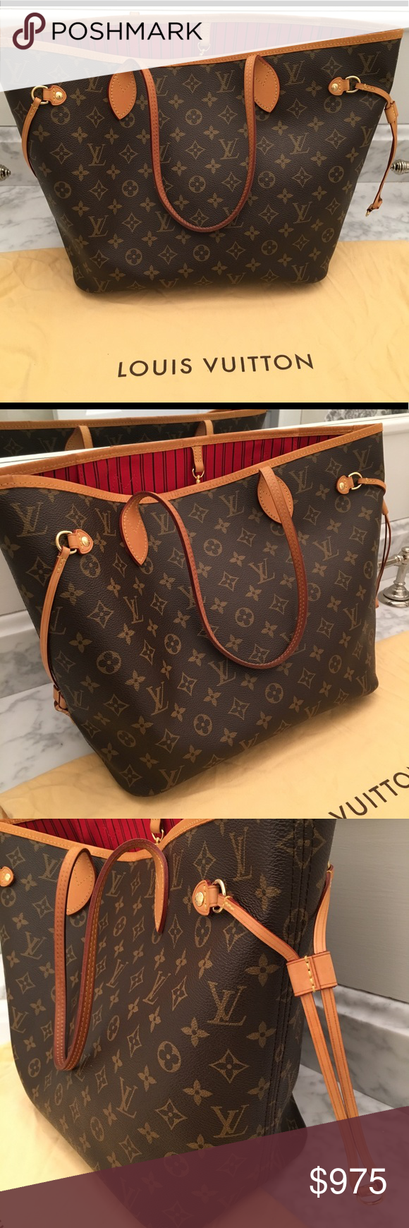 Authentic Louis Vuitton neverfull mm Authentic LV Neverfull mm in good  condition. Includes dust bag.    does not include pouch. bda1bcb52e