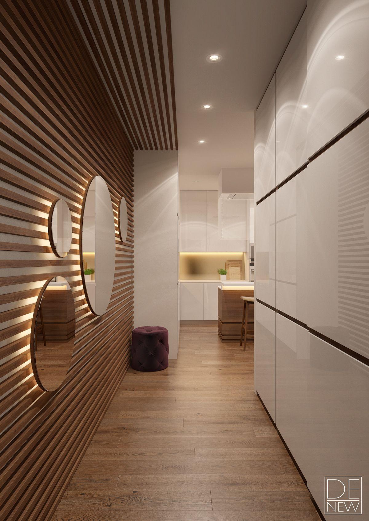 Maison Decoration Couloir Entree | Extraordinaire Idee Deco Couloir ...
