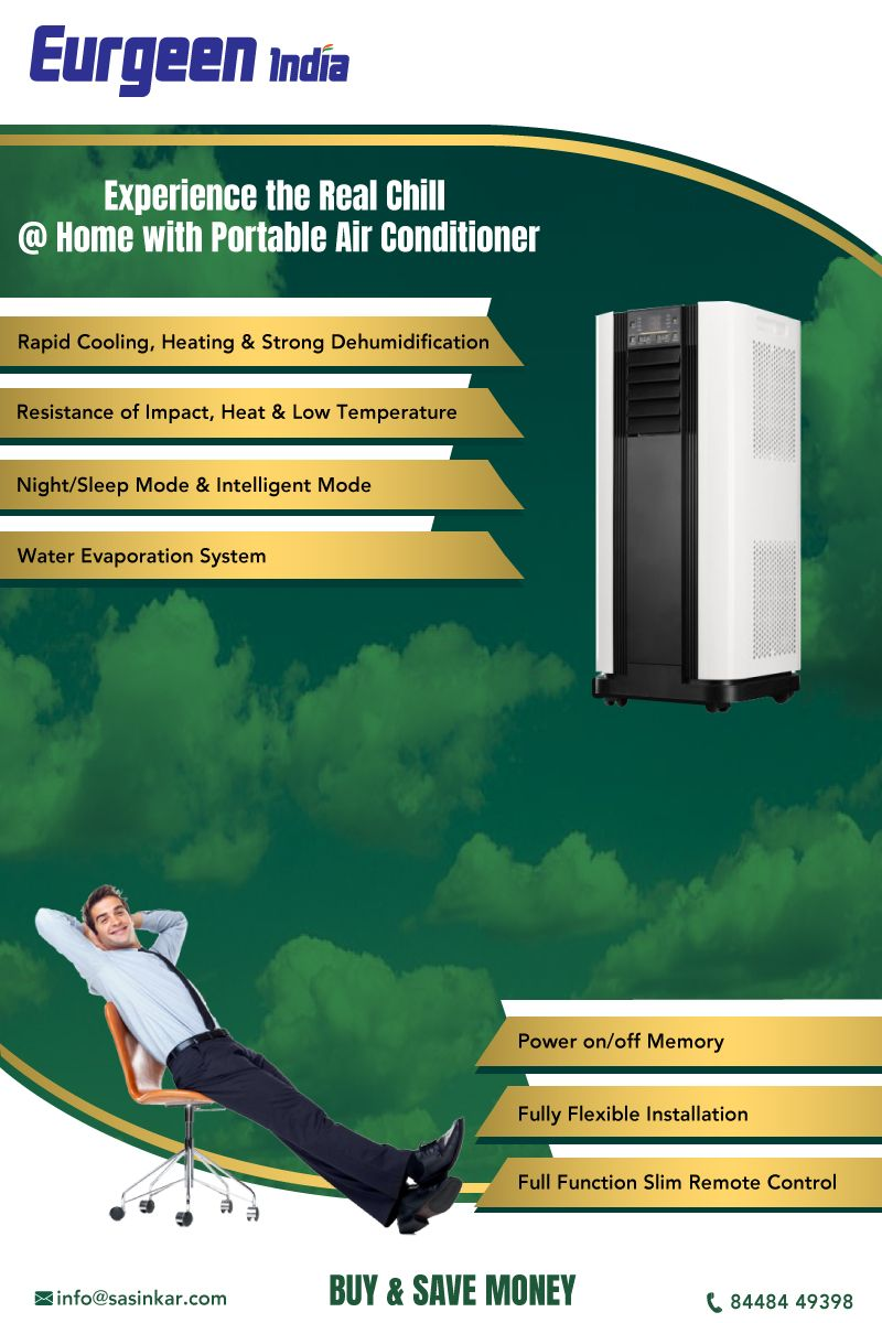 Introducing Eurgeen India 4 In L Portable Ac Now Available