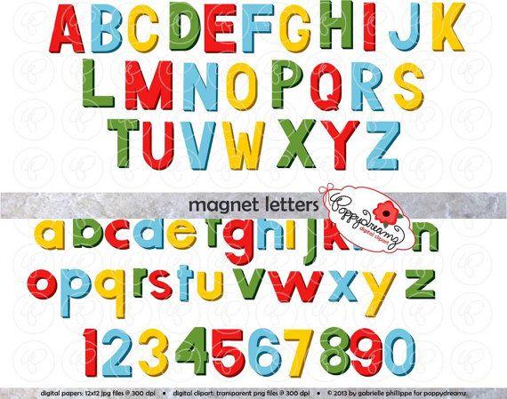 View Alphabets By Poppydreamz On Etsy Lettering Alphabet Clip Art Scrapbook Letters