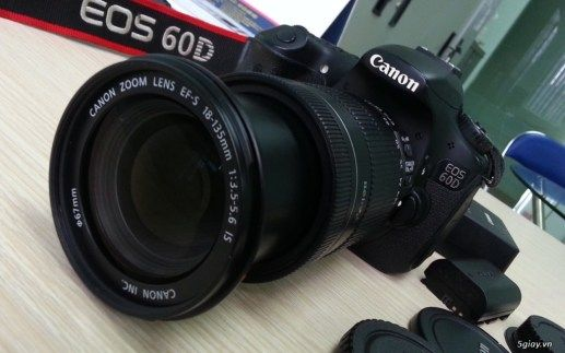 Canon 60d Lens 18 135 Is New 97