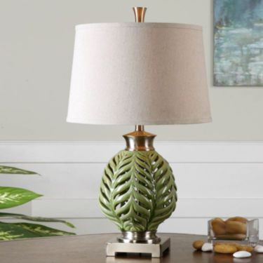 Jcp flowing fern table lamp apartment pinterest fern and jcp flowing fern table lamp aloadofball Images