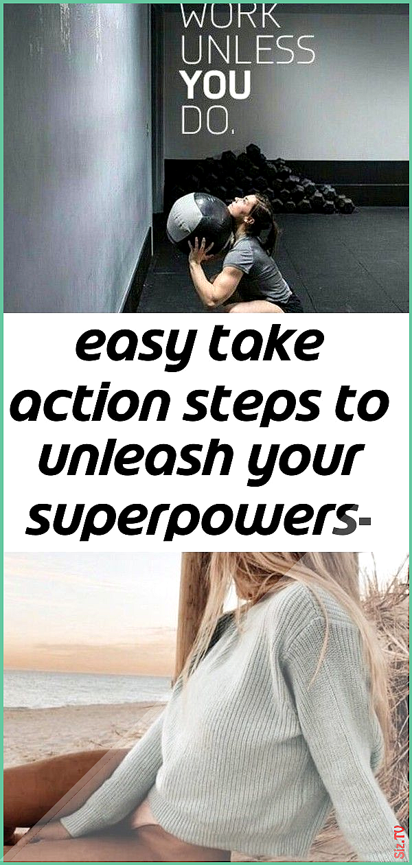 Easy take action steps to unleash your superpowers- free for limited time 60 Easy take action steps...