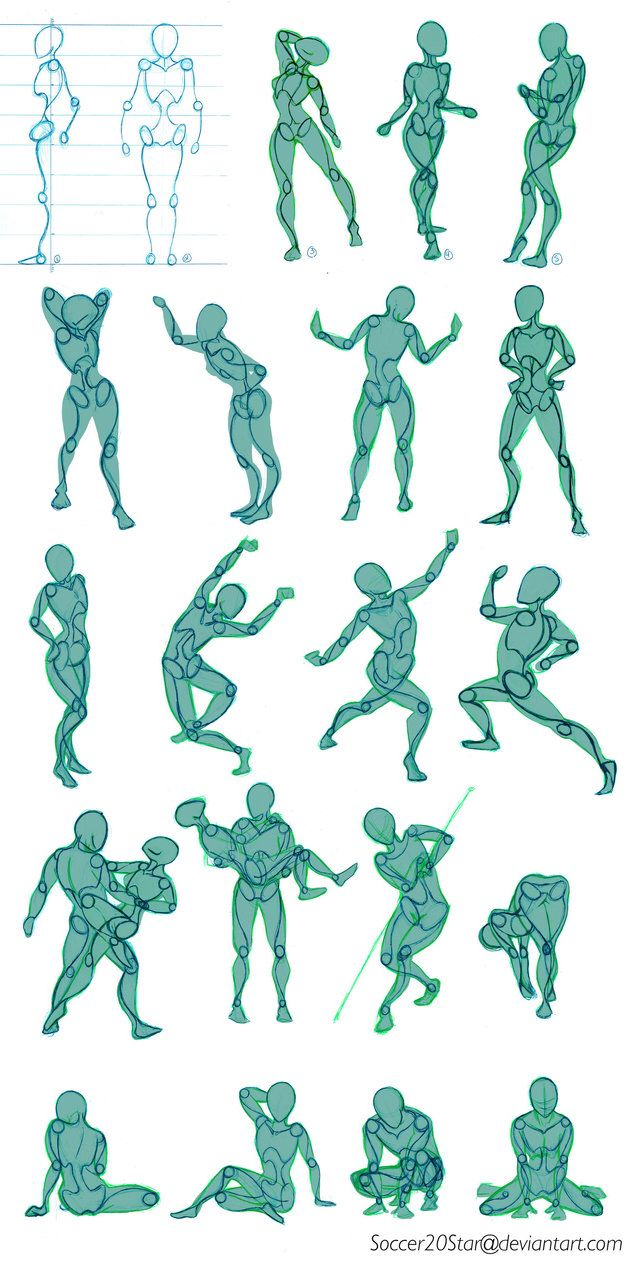Poses by Soccer20Star on @DeviantArt | Drawing tips and tricks ...