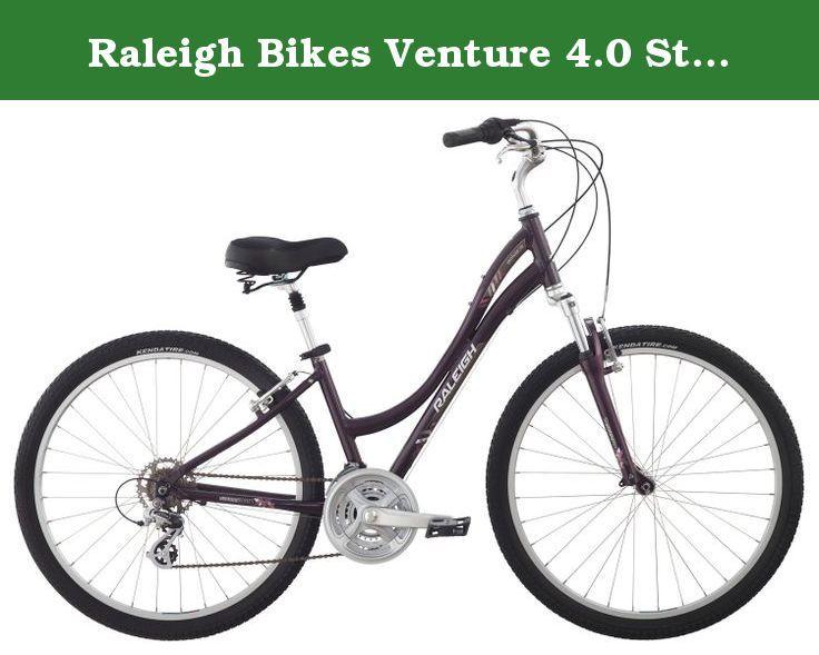 Raleigh Bikes Venture 4 0 Step Thru Comfort Bike 13 Xs Size