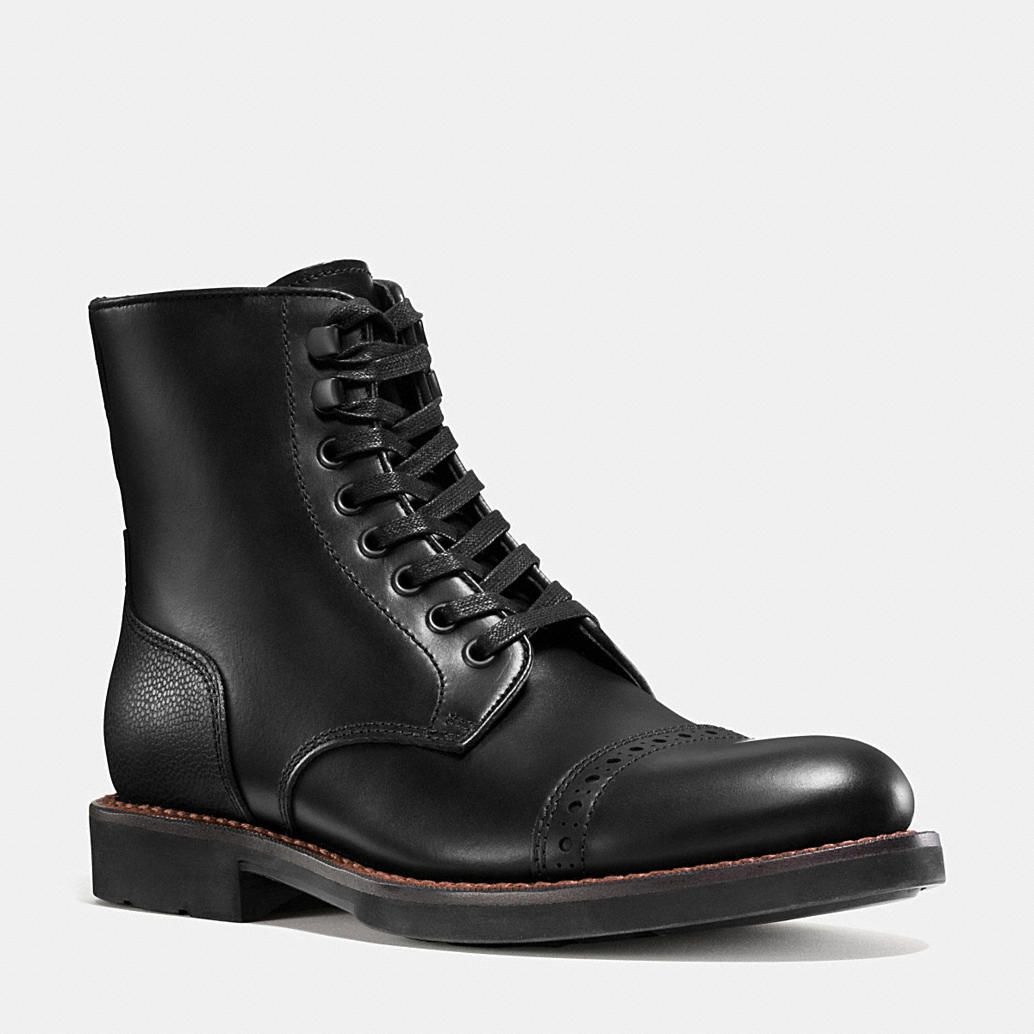 Coach is a New York modern luxury brand established in 1941. Coach brings sophistication, authenticity and timeless style to its womens and mens lifestyle collections. Find out more about BLEECKER CAP TOE BOOT at Coach.com.