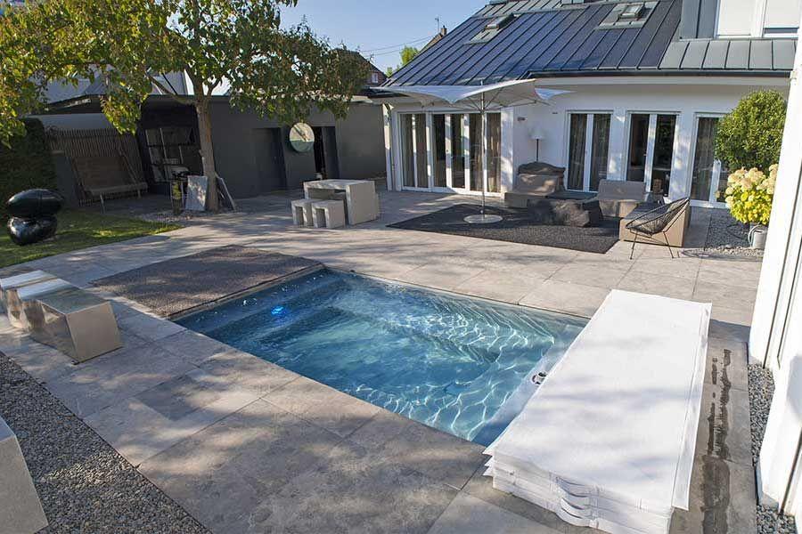 Kleiner Pool im Garten - Pool für kleine Grundstücke | Häuser ...