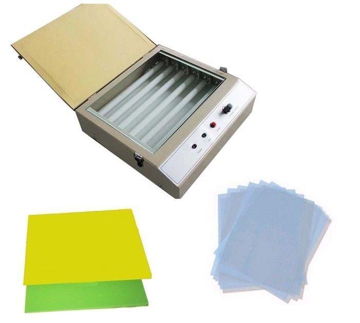 Optics Rubber Stamp Making DIY System UV Exposure Unit Maker Kit Custom