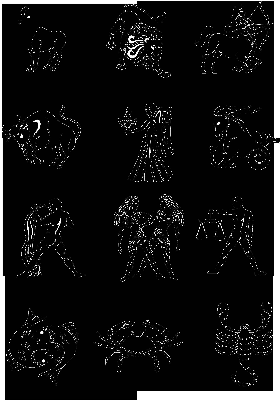 Очередность знаков зодиака картинки