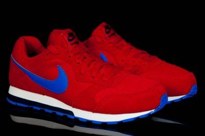 Buty Nike Md Runner 2 601 Czerwone R 35 5 40 24h 6327024164 Oficjalne Archiwum Allegro Nike Sneakers Nike Nike Free