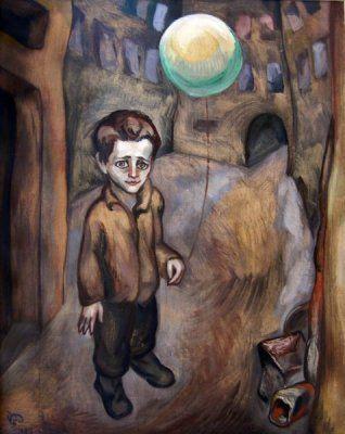 Roman Petrović: Dječak sa balonom, 1929
