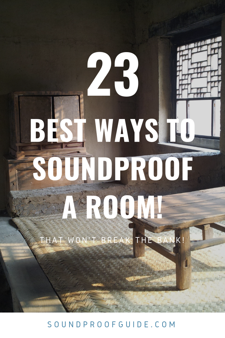 How To Soundproof A Room Soundproofing Soundproof