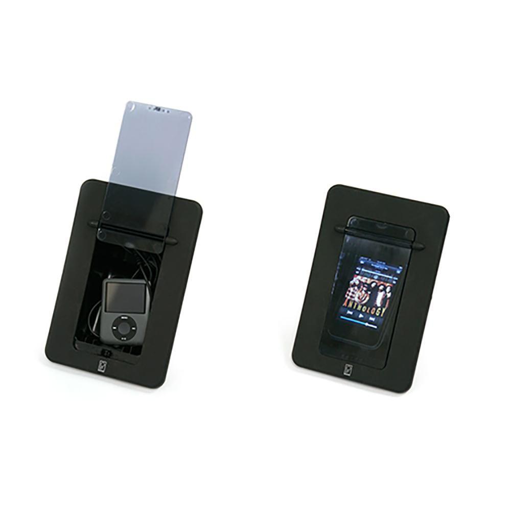 Poly-Planar Spa Side Smartphone Enclosure w/Door – Black [PM…