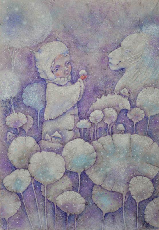 Трогательный мир художницы Анны Петровой (Брянск)
