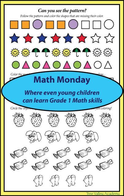 Math For Preschoolers or Grade 1 Students | Math boards, Math and ...