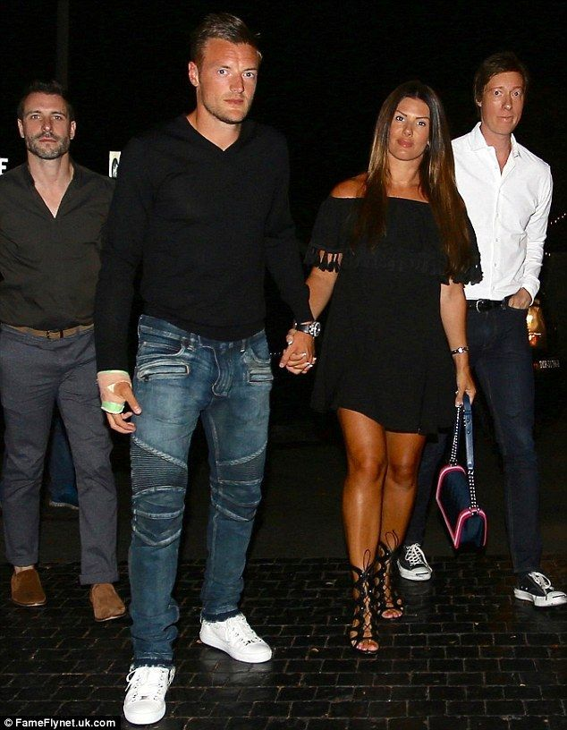 9699c4c0f0a3 From the Bahamas to Beverly Hills  Becky and Jamie Vardy have jetted into  the US to soak up some Hollywood glamour in California