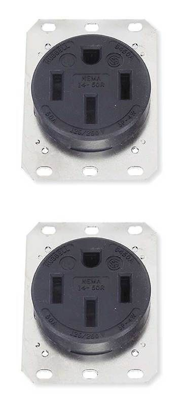 50a 4w single receptacle 125 250vac 14 50r bk circuit breakers and rh in pinterest com Fuse Box Cover 40 Amp Circuit Fuse Box