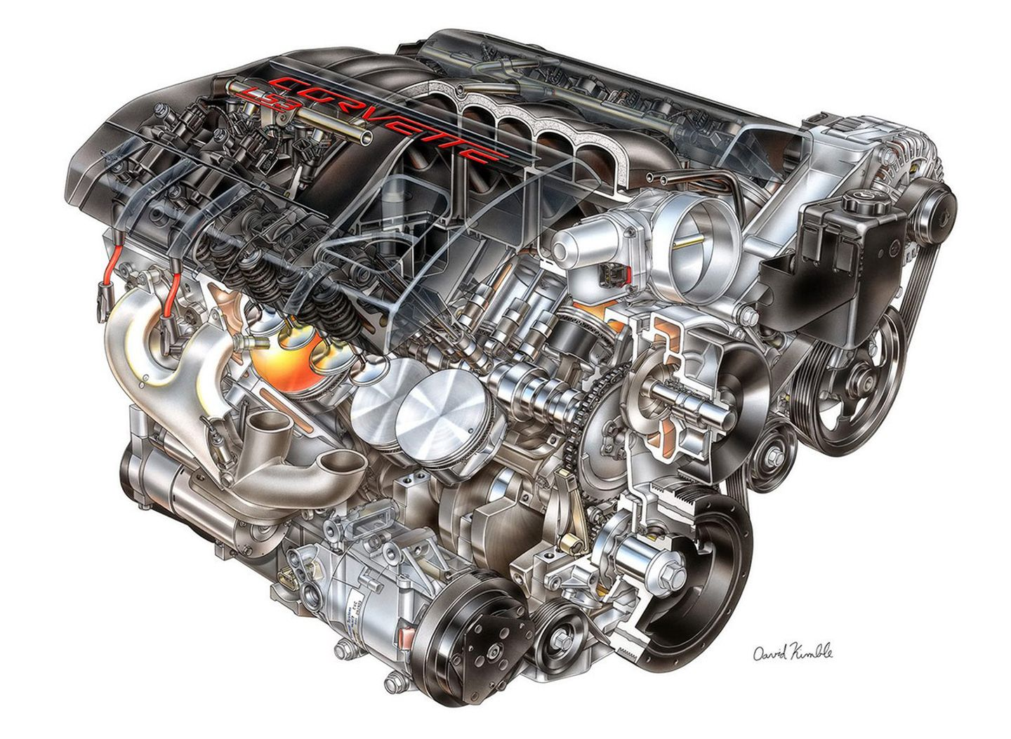 25 best engines images on pinterest engine motor engine and rh pinterest com Chevy Engine Parts Diagram Chevy Malibu Engine Diagram