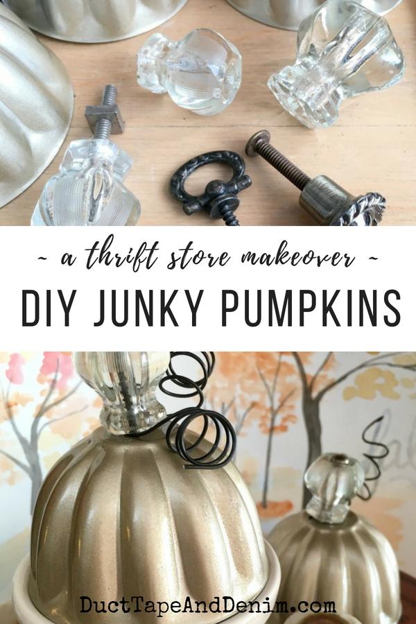 Junky Pumpkins | Pinterest
