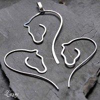 Wire Horse Head Earrings Goods Dealer Ly Fler Cz