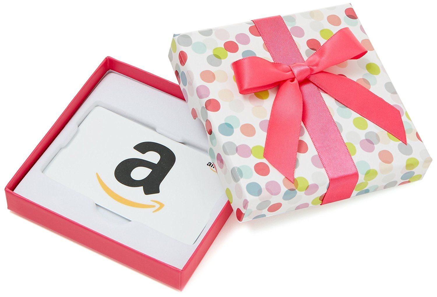 Amazon.com: Amazon.com Gift Card for Any Amount in a Dot Box (Classic White Card Design): Gift Cards
