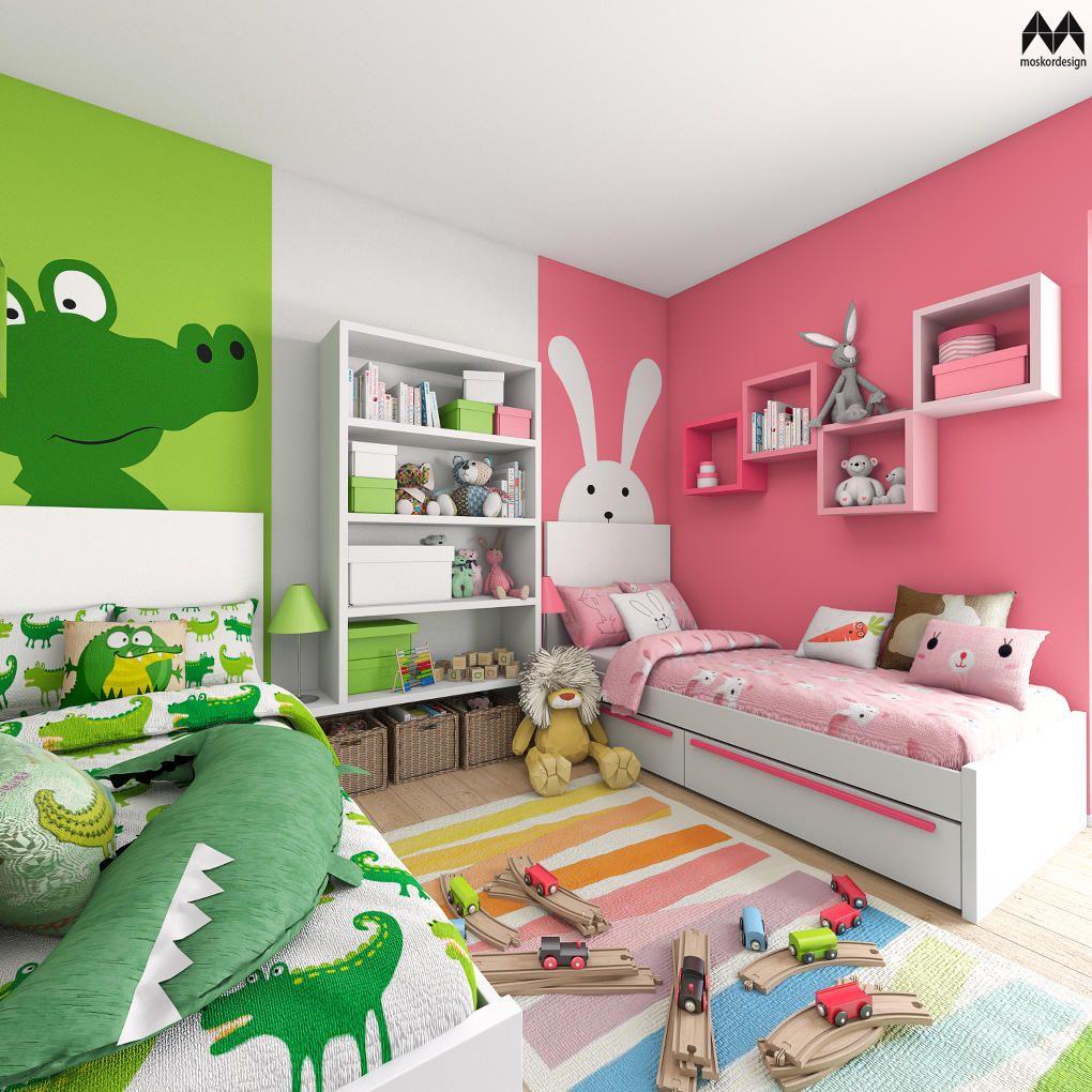Dětský pokoj pro dvě děti