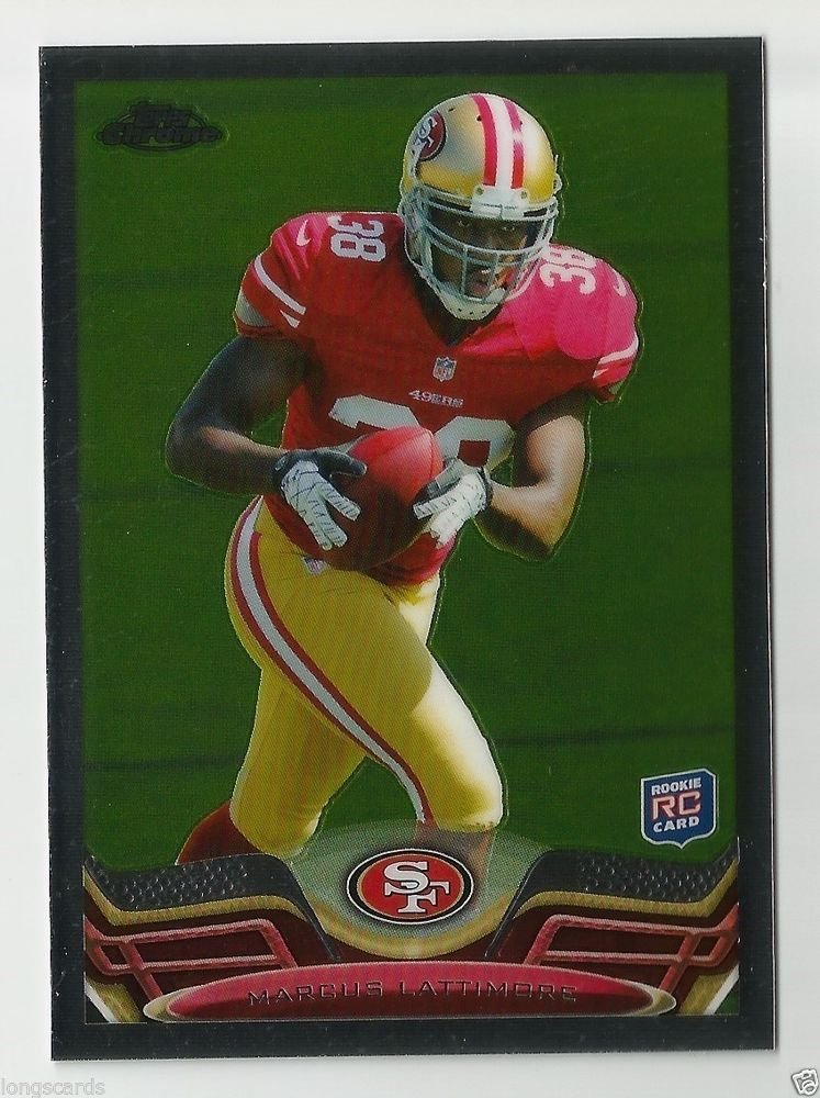 2013 topps chrome rookie marcus lattimore with images