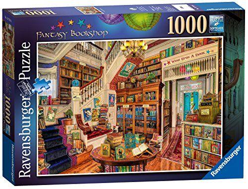 Ravensburger The Fantasy Bookshop 1000pc Jigsaw Puzzle Ra Https Smile Amazon Com Dp B0734v91np Ref Cm Sw R Pi Dp U X Ravensburger Puzzle Puzzle Art Puzzle